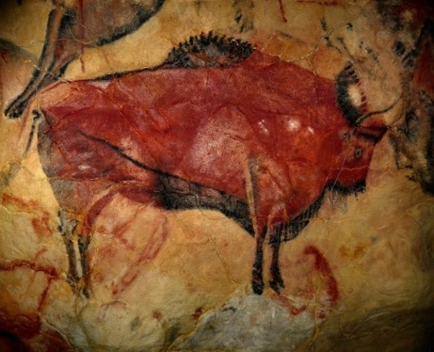 Avrupa'dakilerle çağdaş Asya'daki 40.000 yıllık kaya resimleri