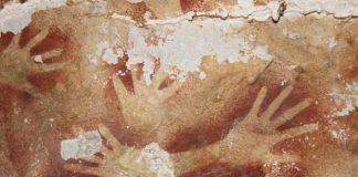 Asya'da 40 bin yıllık kaya resimleri