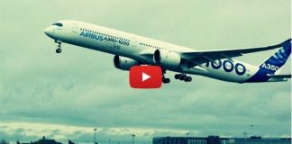 Video: Airbus A350-1000 ilk test uçuşunu yaptı