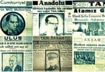 Atatürk'ün son günleri ve 11 Kasım 1938 gazete manşetleri
