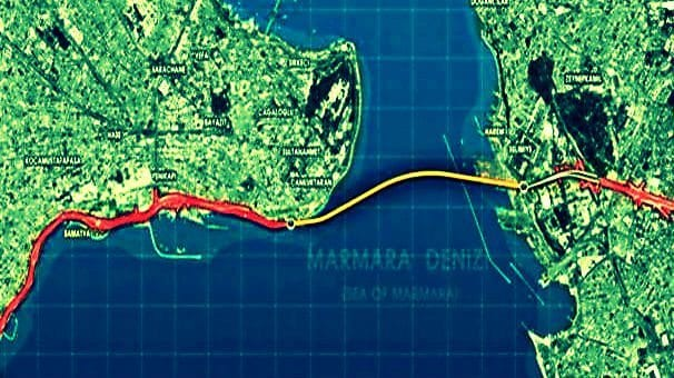 5.4 km uzunluğa sahip Avrasya Tüneli, trafiği yüzde 30 azaltacak.
