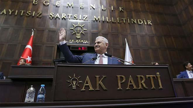 başbakan binali yıldırım ak parti grup toplantısı