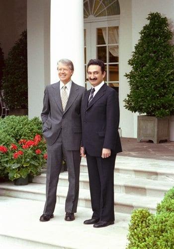 Bülent Ecevit ve ABD Başkanı Jimmy Carter Beyaz Saray'da, 31 Mayıs 1978