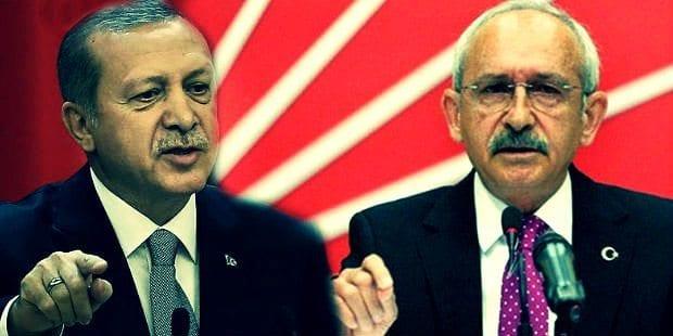 Cumhurbaşkanı Erdoğan'dan CHP'ye suç duyurusu