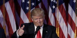 ABD 45. Başkanı Donald Trump'ın zafer konuşması