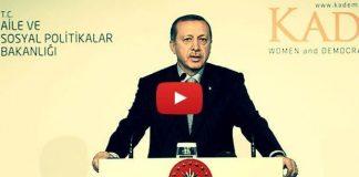 video Erdoğan: Daha ileri giderseniz sınır kapılarını açarız
