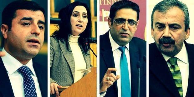 HDP'ye yönelik operasyonda aralarında eş genel başkanlar Selahattin Demirtaş ile Figen Yüksekdağ'ın da olduğu 12 milletvekilinden 9'u tutuklandı.
