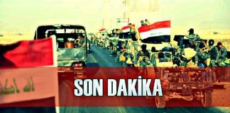 Son Dakika: Irak ordusu Musul'a girdi