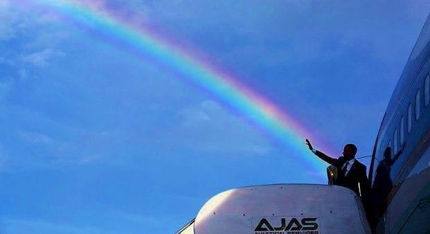 Obama'nın gün yüzüne çıkan fotoğrafları