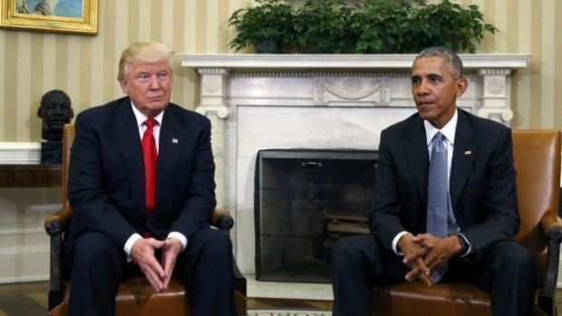 Donald Trump: Protestolar, Oval ofis, Obama, Müslümanlık