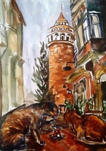Nezihe Karakaya metropol sakinleri sergi
