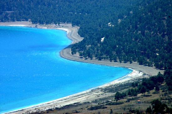 salda gölü ÇED sürecinden 6 gün sonra Orman Su İşleri Bakanı Veysel Eroğlu tarafından temeli atıldı
