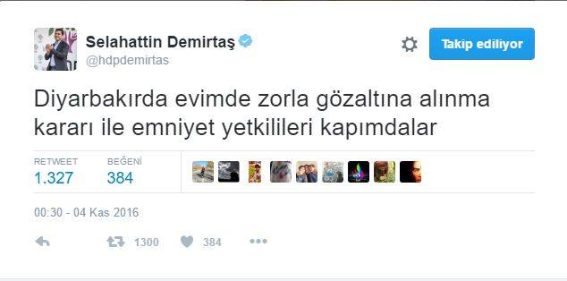 Selahattin Demirtaş dahil HDP'li vekillere gözaltı