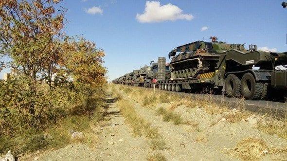 tsk Silopi'ye zırhlı birlikler gidiyor. Ankara ve Çankırı'dan tanklar, tank kurtarıcıları ve zırhlı tekerlekli araçlar Şırnak Silopi'ye doğru yola çıktı.