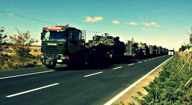 silopi'ye zırhlı birlikler sevk ediliyor şırnak sınır