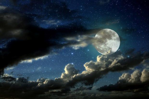 süper ay dolunay büyük ay