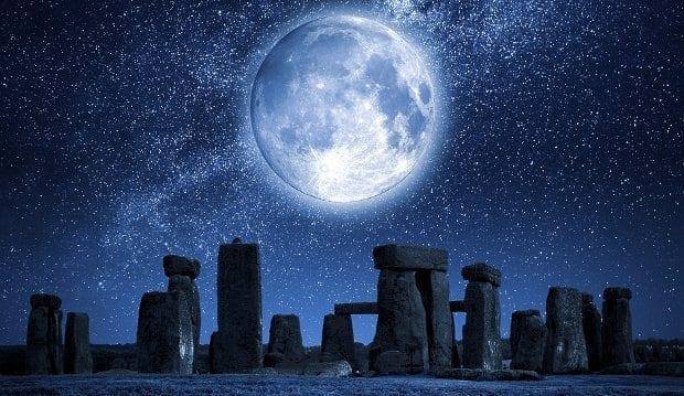 Yanılsamalı korelasyon dolunay etkileri tuhaf gizemli olaylar stonehenge