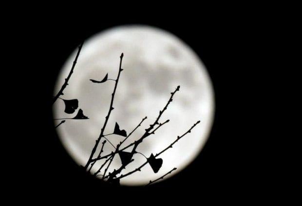 süper ay fotoğrafları görüntüleri dolunay video