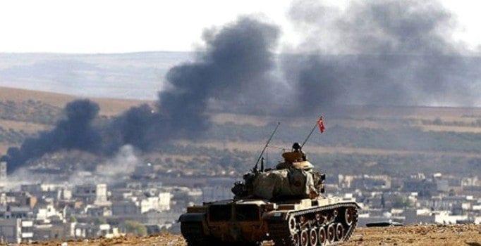 Suriye rejimi El Bab'da Türk askerine havadan saldırdı