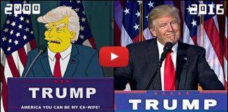 The Simpson çizgi filmi Trump'ı 16 yıl önce tahmin etti