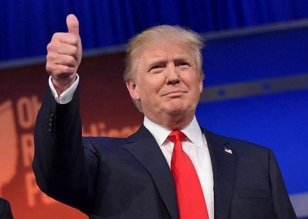 Donald Trump ABD'nin 45. başkanı oldu