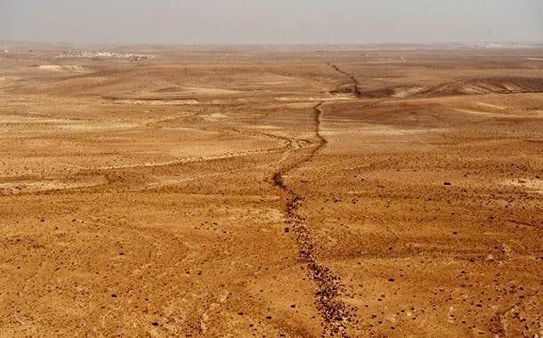 Khatt Shebib Duvarı gizemini koruyor