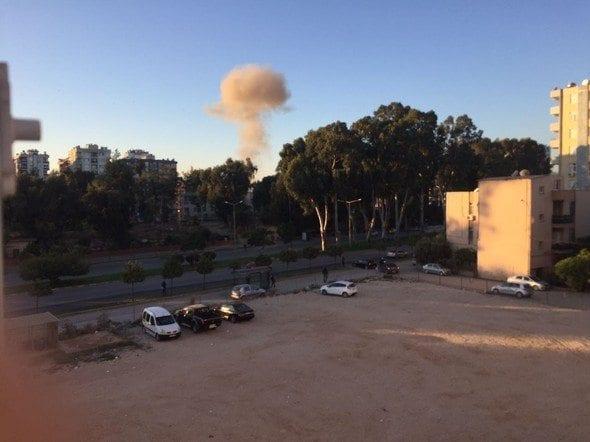 adana valiliği otoparkı patlama