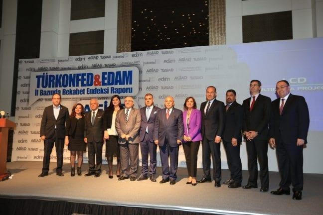 Türkiye'de rekabetçiliğin bölgesel dağılımı nasıl?