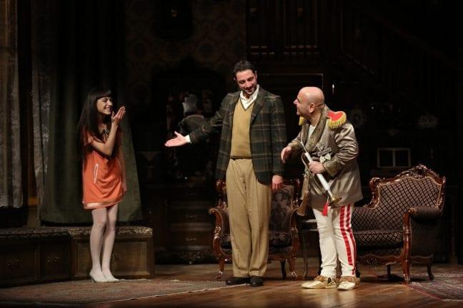 "Tiyatrokare'nin yeni oyunu ""Ahududu"""