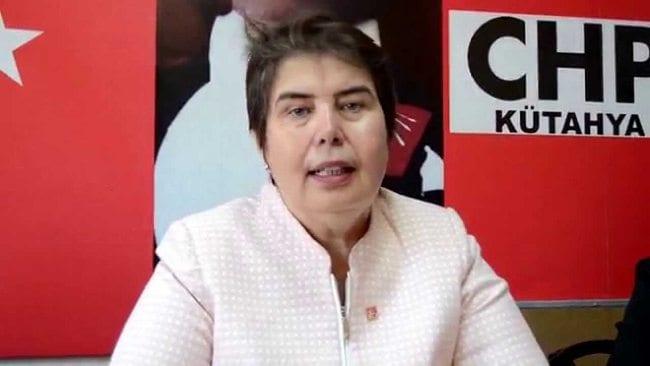 Zeliha Aksaz Şahbaz chp kütahya il başkanı