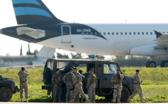 Afriqiyah Havayolları'na ait Libya uçağı kaçırıldı