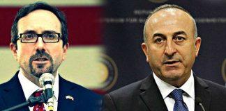 Amerika ile Türkiye arasında nokta polemiği