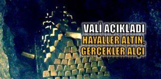 Antalya Kemer'de 20 ton külçe altın bulundu iddiası