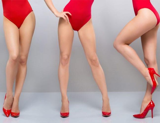 Bacak estetiği: Bacaktaki yağlar için ne yapmalısınız?