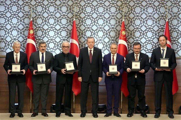 cumhurbaşkanlığı kültür sanat büyük ödülü şener şen erdoğan