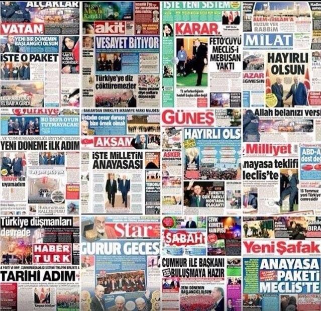 10 aralık beşiktaş saldırısı 11 aralık gazete manşetleri şehit yok başkanlık var