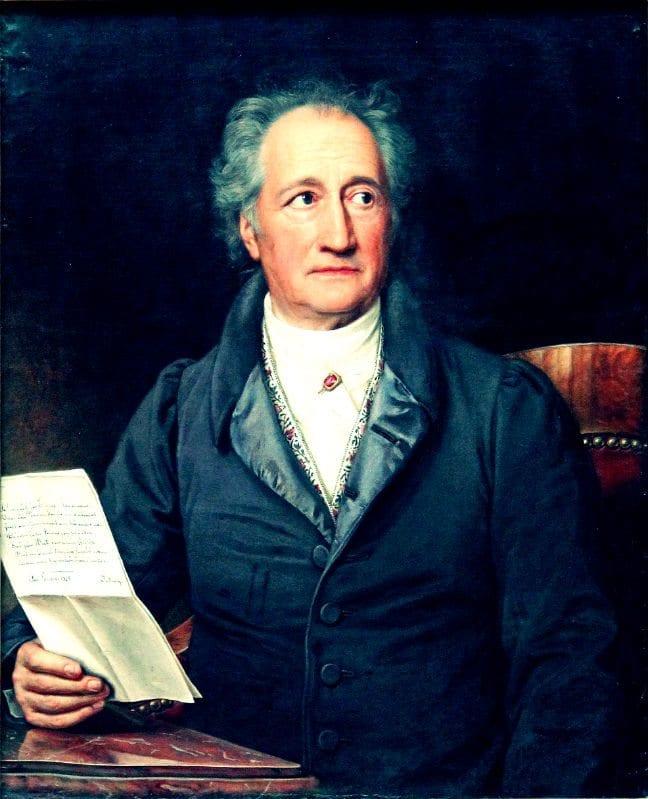Joseph Karl Stieler goethe 1828