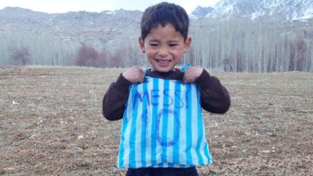 Messi Murtaza'nın rüyası