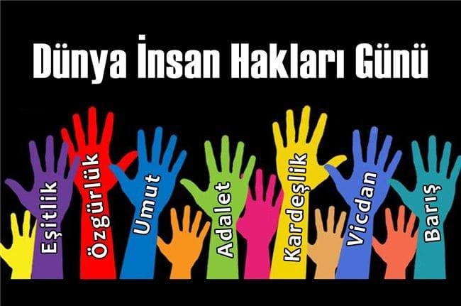 İnsanlığın unutulduğu dünyada Dünya İnsan Hakları Günü