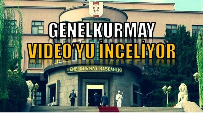 IŞİD'in 2 Türk askerini yaktığı iddia edilen video ile ilgili resmi açıklama yok genelkurmay video inceliyor