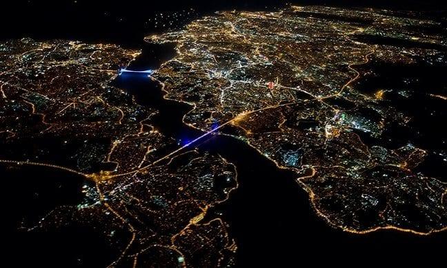 istanbul aerial gece kalıcı yaz saati uygulaması