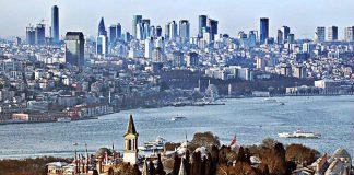 istanbul gökdelenleri binalar topkapı sarayı