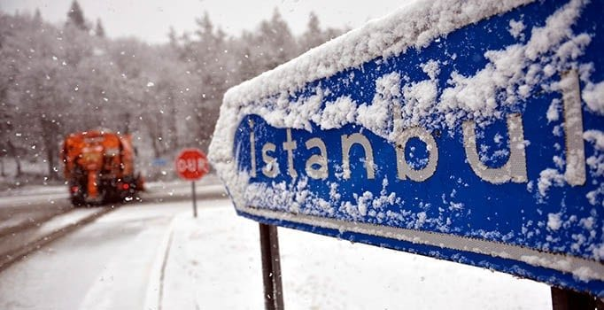 istanbul Kar sağanağı ne anlama geliyor?
