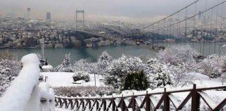 İstanbul kar sağanağı sağanak kuvvetli kar yağışı
