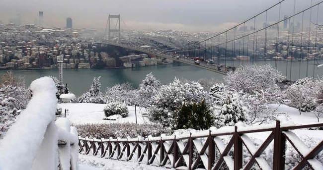İstanbul'da kar yağışı için Meteoroloji saat verdi!
