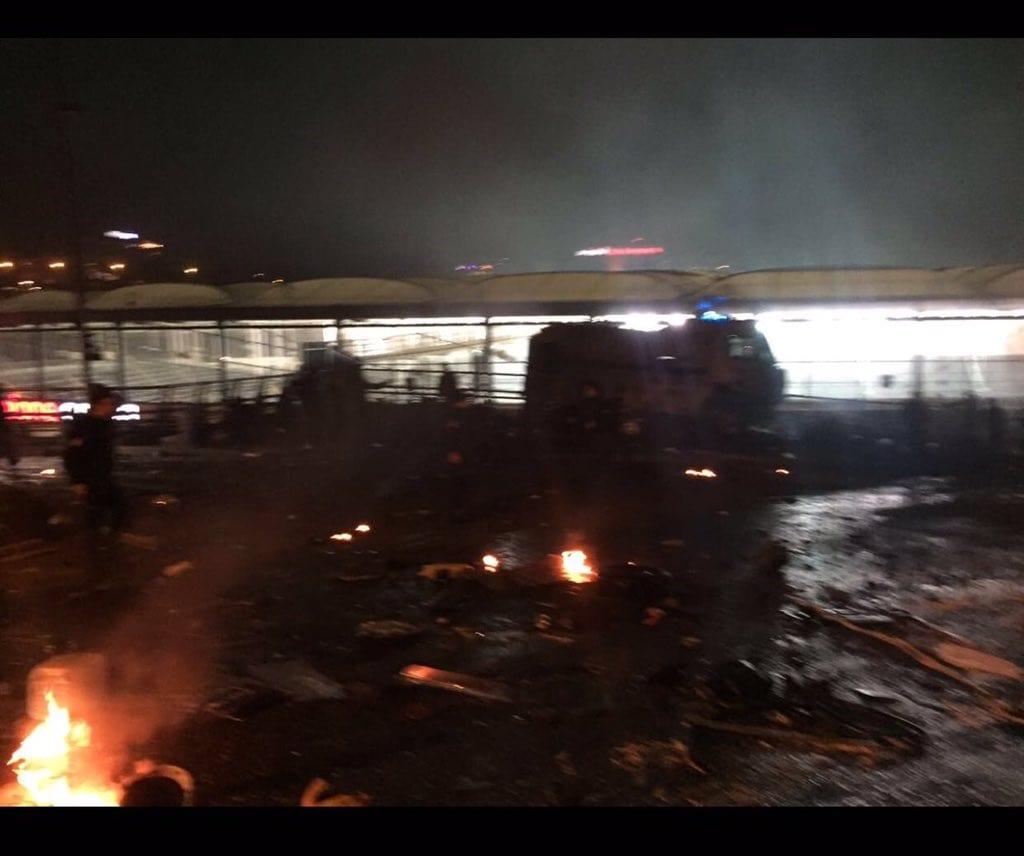 İstanbul Beşiktaş Vodafone Arena Stadı'nda patlama oldu