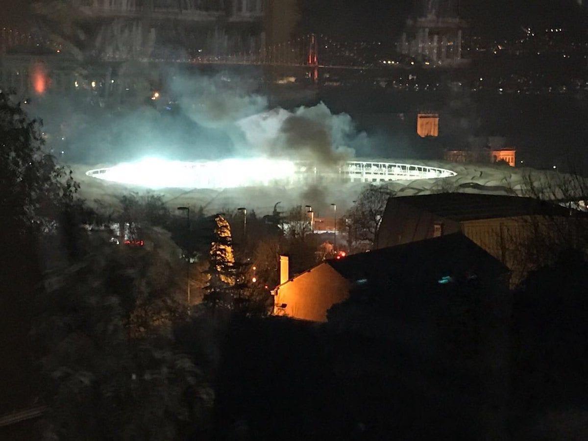 istanbul vodafone arena patlama anı beşiktaş dolmabahçe süzer plaza