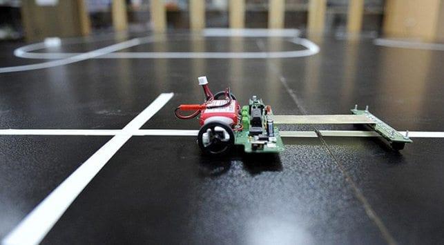 Karabük Üniversitesi robot yarışmasında dünya birincisi oldu