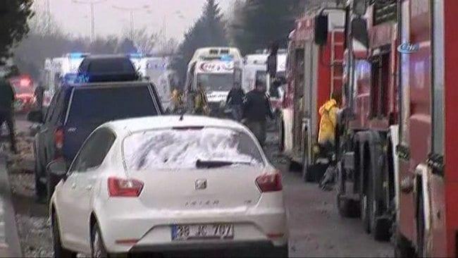kayseri patlama terör saldırısı