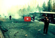 Video: Kayseri'de terör saldırısı ilk görüntüler